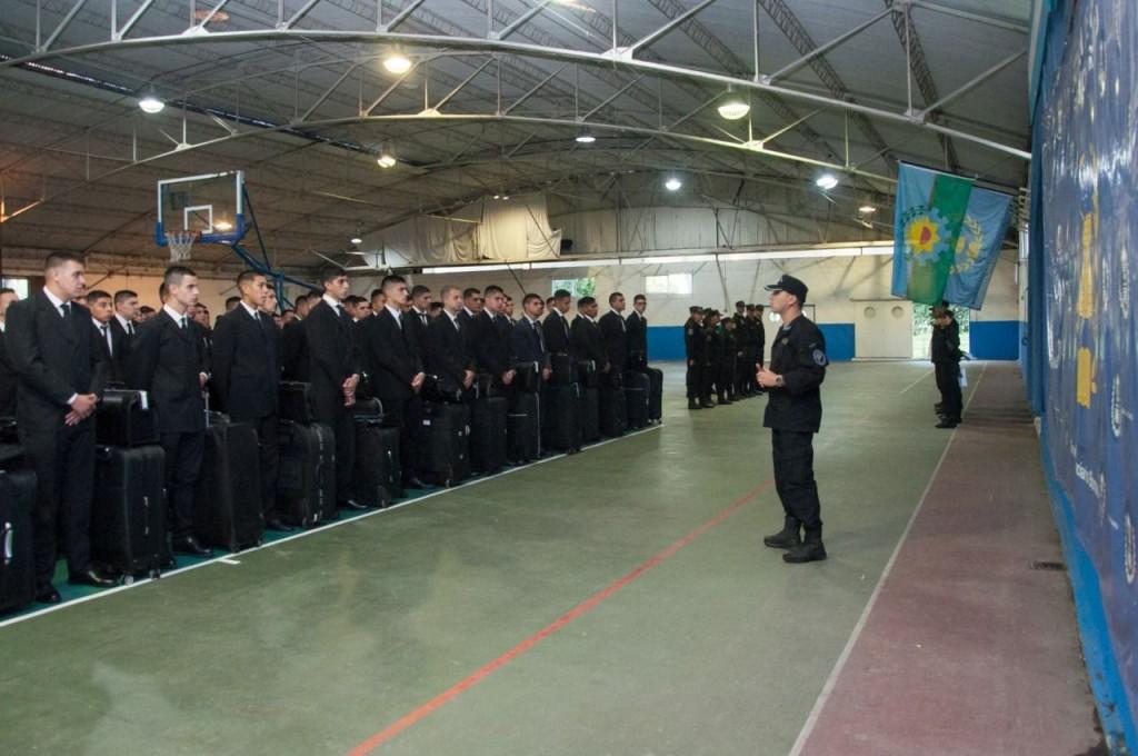 Aspirantes a oficiales penitenciarios iniciaron la carrera con un curso introductorio intensivo