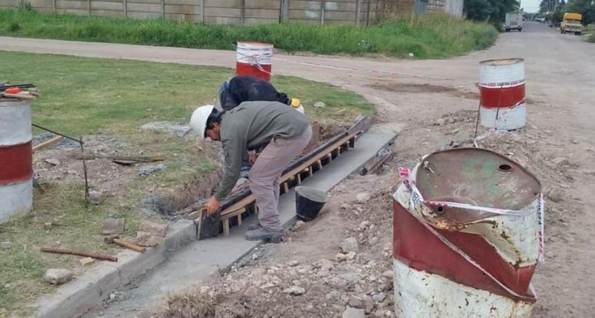 Pickelado: continúan los trabajos en los conductos pluviales