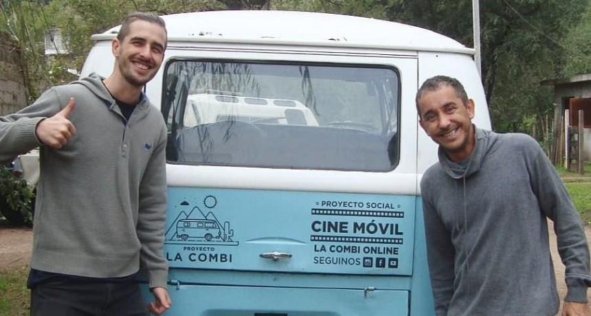 La combi online, un proyecto que une a cada pueblo de nuestro país a través del cine