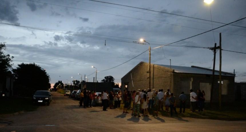 El Barrio BICE cuenta con alumbrado público LED