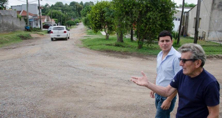 """Aguilera: """"es injusto que con los recursos que produce Sierras Bayas tenga la delegación municipal desfinanciada"""""""