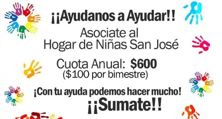 Lanzan campaña de socios para el Hogar de Niñas San José