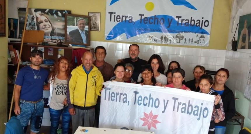 Tierra, Techo y Trabajo Olavarría pide la apertura de la 'paritaria social'