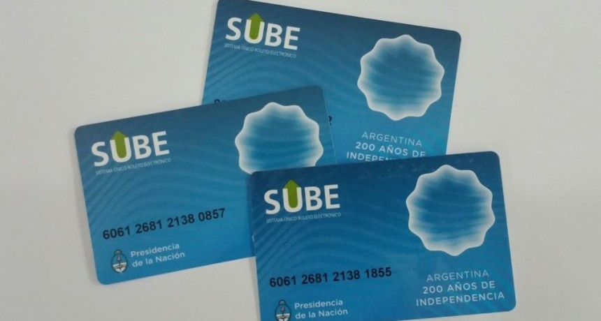 Nuevas opciones de carga electrónica de SUBE