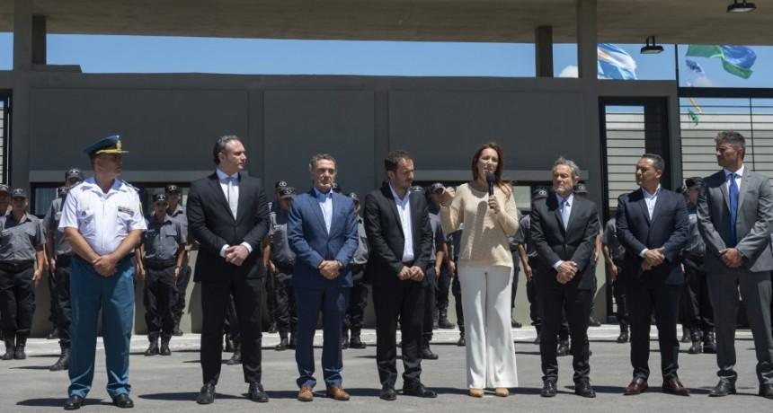 La gobernadora inauguró una cárcel modelo para jóvenes, en Campana