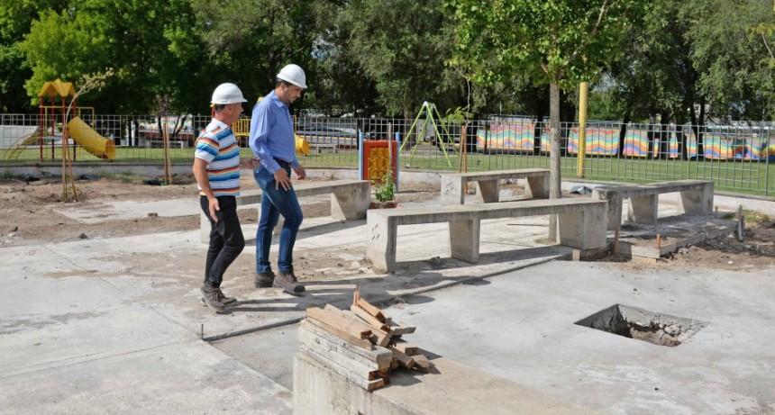 En marcha la obra de remodelación de la Plaza del Bicentenario