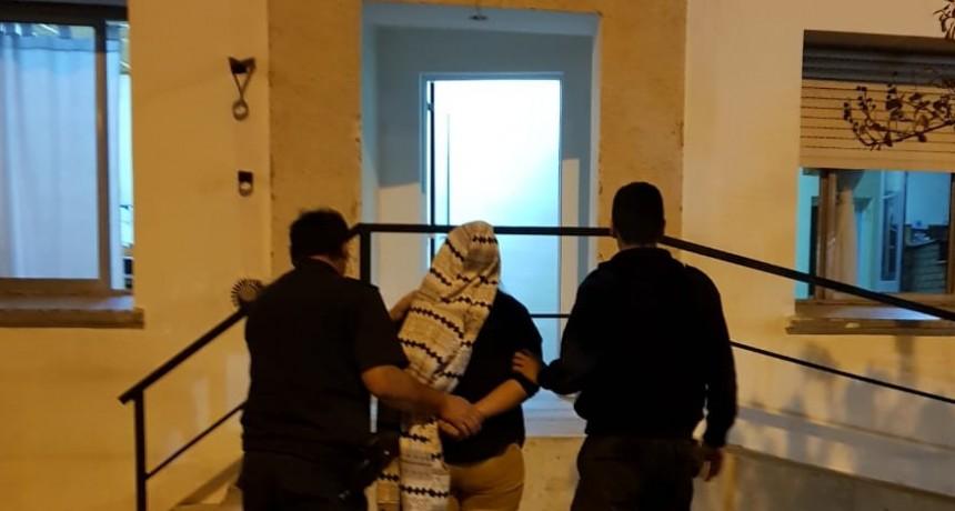 Hinojo: Mujer aprehendida por disturbios