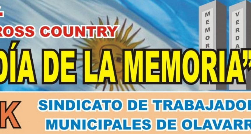 Primer Cross Country 'Día de la Memoria'