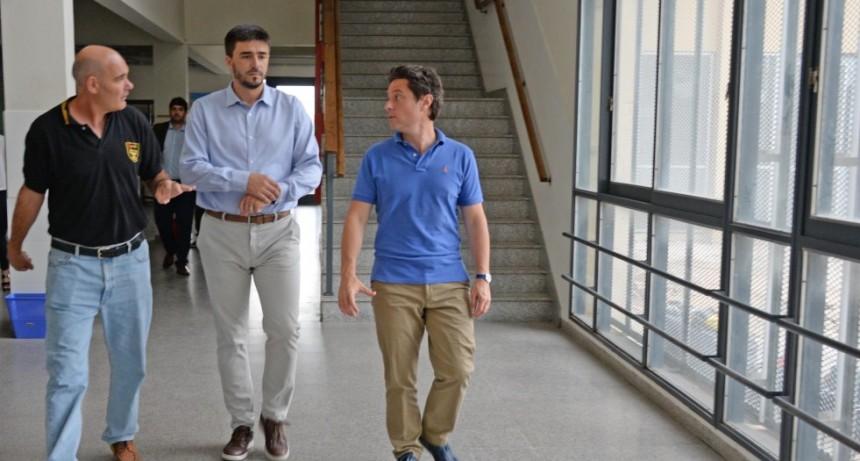 Galli y Sánchez Zinny en un trabajo conjunto por la Educación