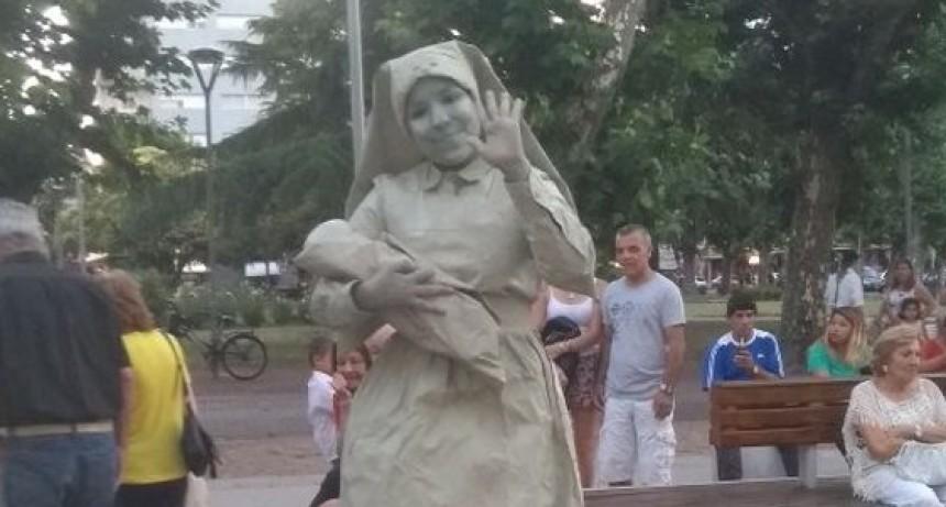 Olavarría sede del V Encuentro Nacional de Estatuas Vivientes