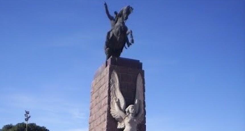 Se celebra el 241º aniversario del natalicio de Gral. San Martín