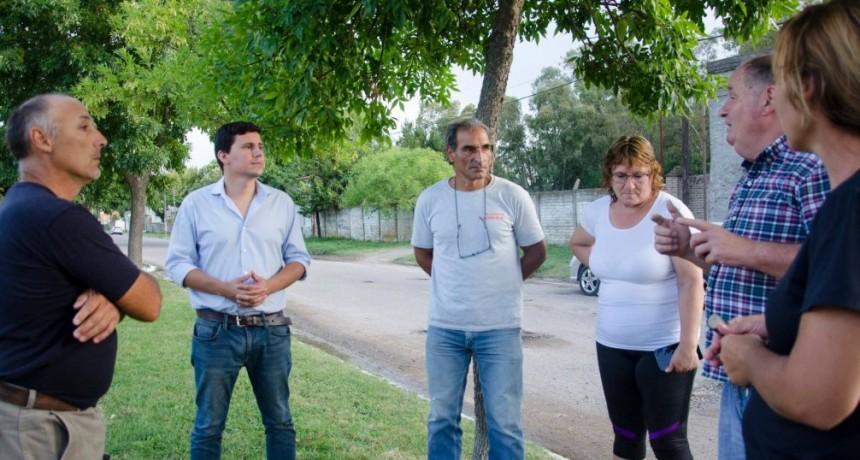 Aguilera presentará proyectos en el HCD para las localidades