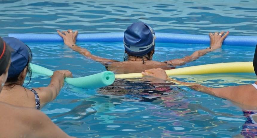 El 6 de marzo comienza la inscripción para acqua gym y natación
