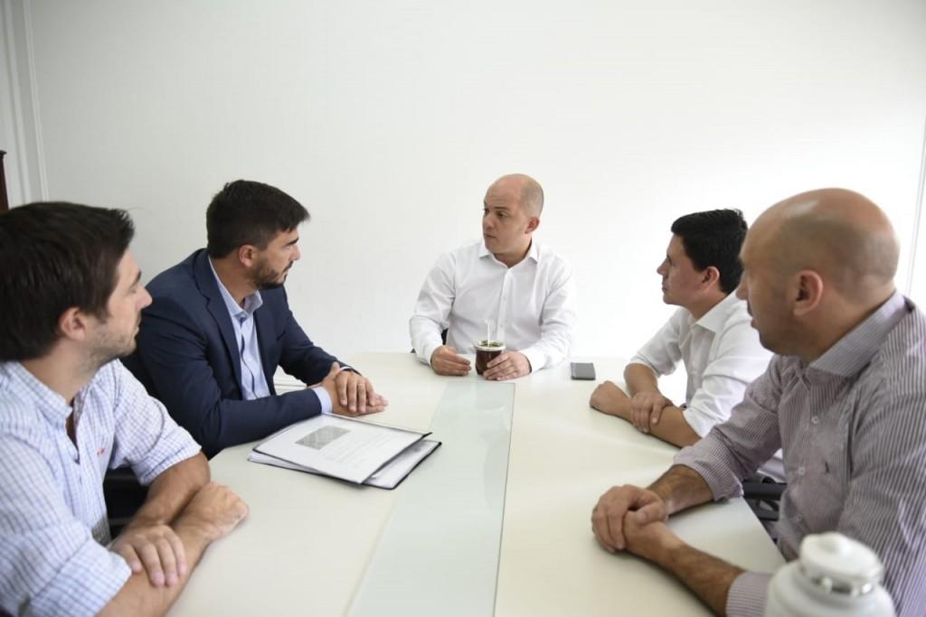 Ezequiel Galli se reunió con el Secretario de Asuntos Municipales de la Nación