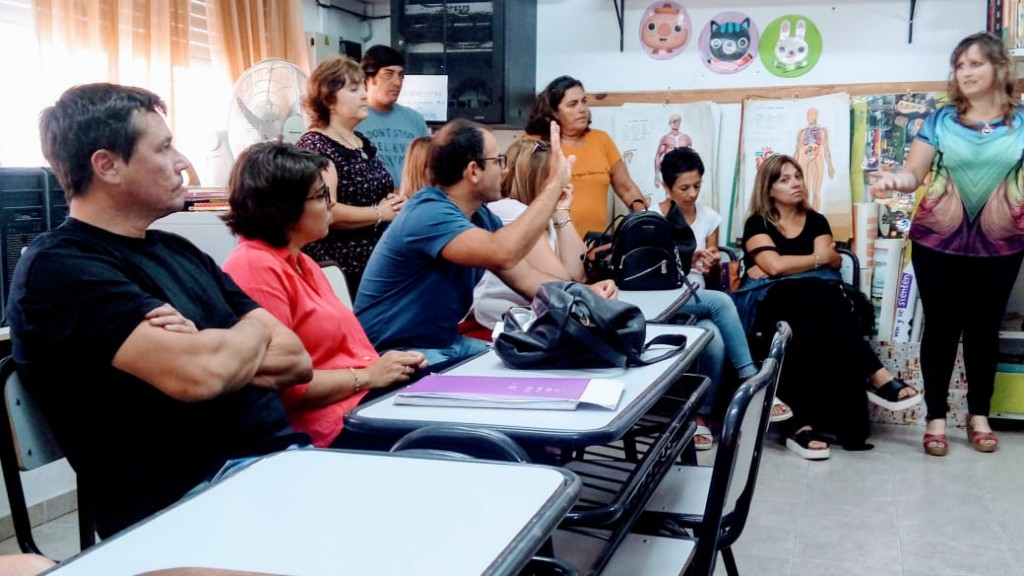 Millán:' la responsabilidad del Estado es promover y propiciarlos edificios para las escuelas'
