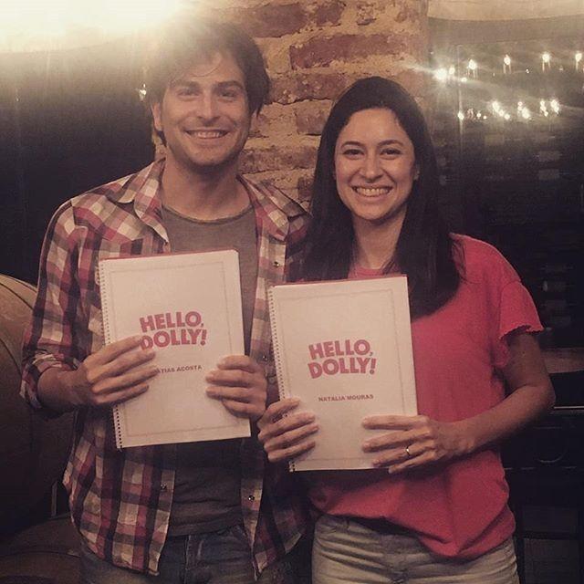 Matias Acosta y su gran presente en Hello Dolly