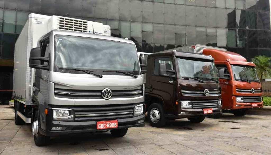 VW Camiones  en el Delivery Truck Points en Mar del Plata, Carlos Paz y Mendoza
