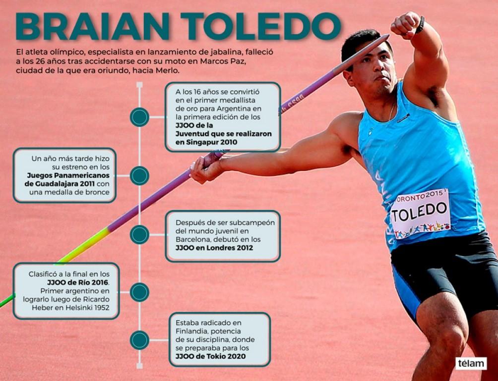 Abuelas de Plaza de Mayo recuerdan al fallecido atleta Braian Toledo