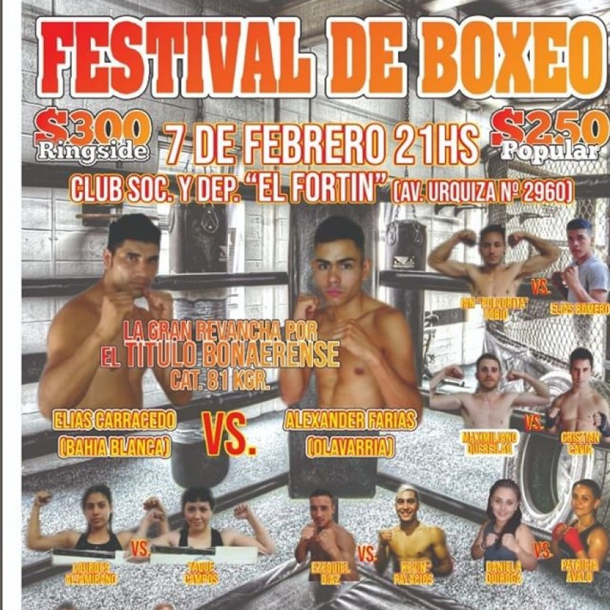 Boxeo:Festival Amateur