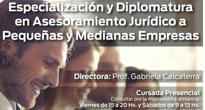 Nueva edición de la Especialización y Diplomatura en Asesoramiento Jurídico a PyMes