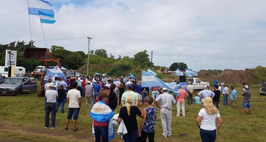 Nueva movilización de productores en San Nicolás