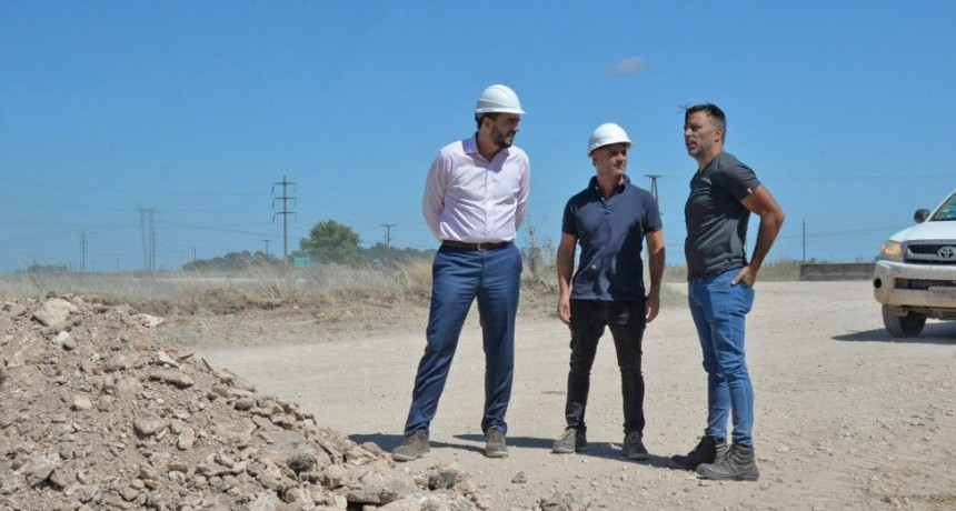 Obras Públicas trabaja en el mantenimiento de caminos rurales