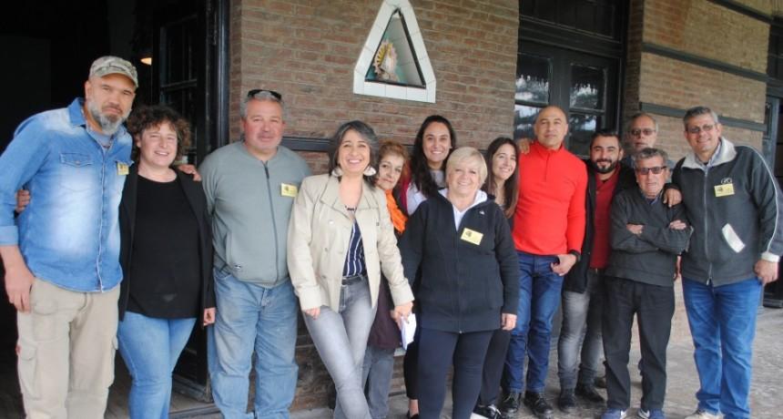 Finalizó la intervención en el Museo 'La Estación' de Sierras Bayas