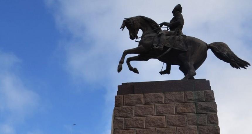 Se conmemorará el 242º aniversario del nacimiento del General San Martín