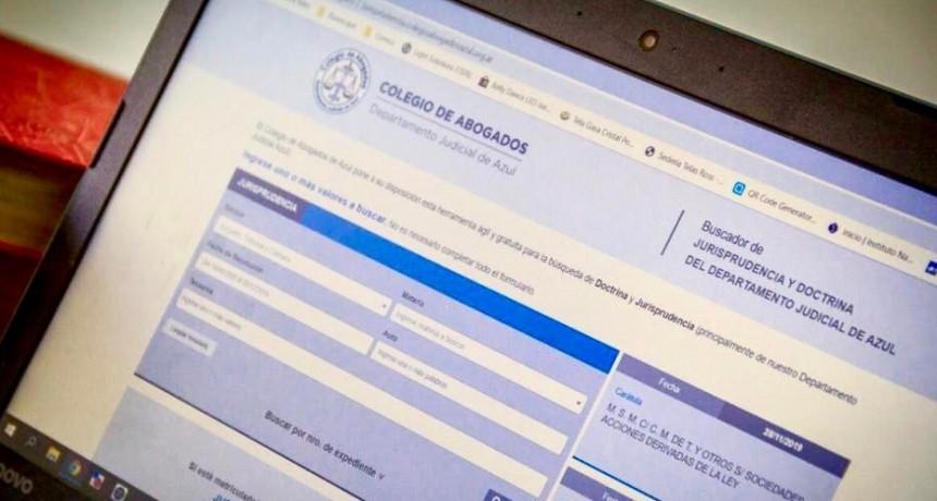 El Colegio de Abogados facilita el acceso a la Jurisprudencia a matriculados
