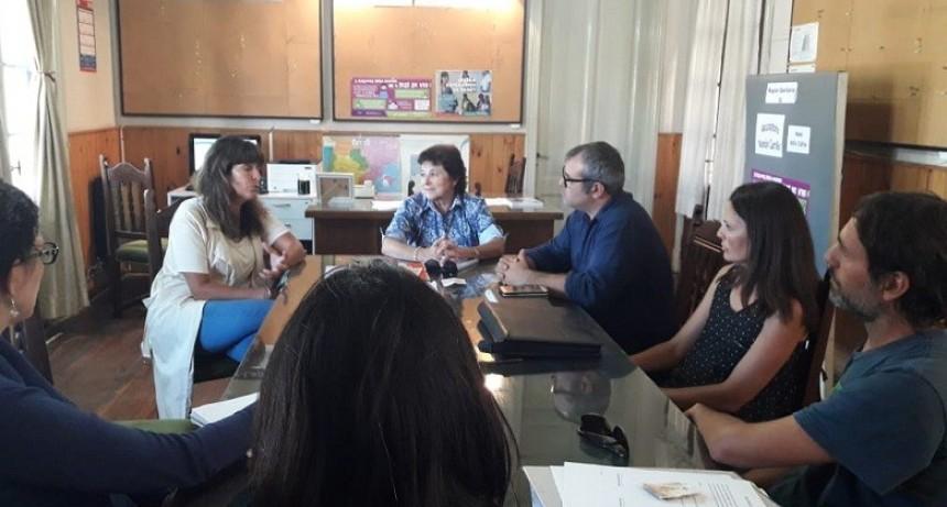Azul: concejales del Frente de Todos se reunieron con autoridades de la Región Sanitaria IX