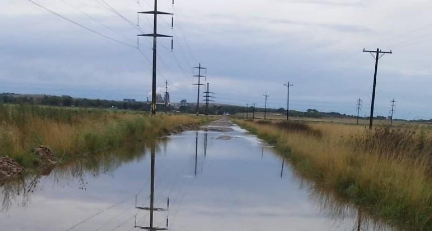 Registros de lluvia tras la tormenta de este lunes