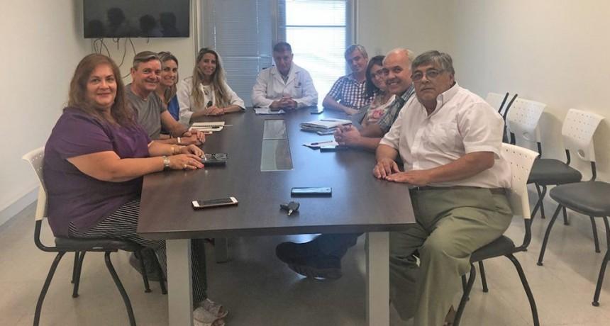 Trabajo conjunto entre el Municipio y la Facultad de Ciencias de la Salud