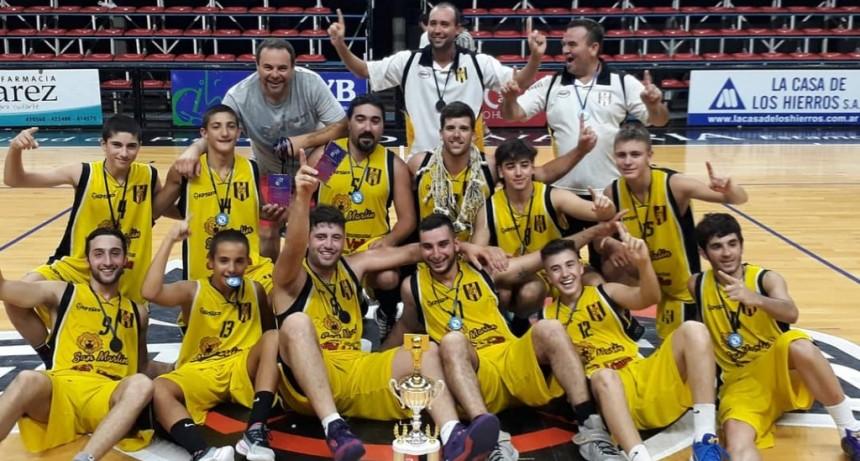 Basquet: San Martin de Sierras Bayas Campeón del Verano