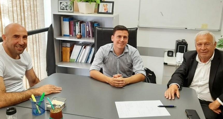 Aguilera y Tassara promueven la generación de un convenio entre la UNICEN y la Subsecretaría de Minería de la provincia