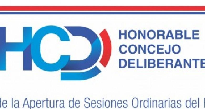 Apertura de Sesiones del Concejo Deliberante