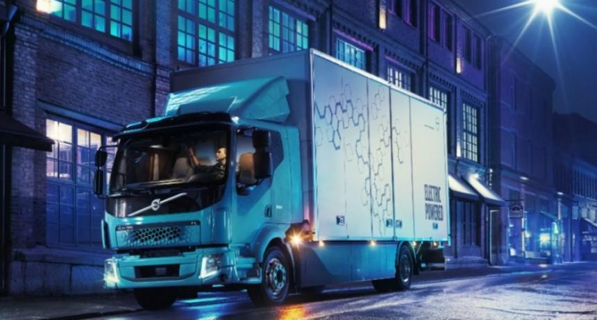 El futuro ya llegó, en Marzo Volvo larga al mercado sus camiones eléctricos