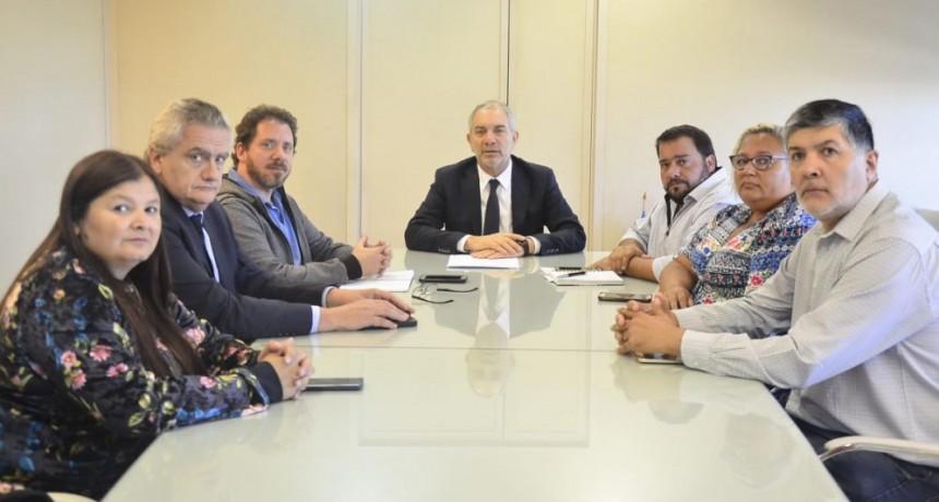 Judiciales mantuvieron reunión con el Ministro de Justicia