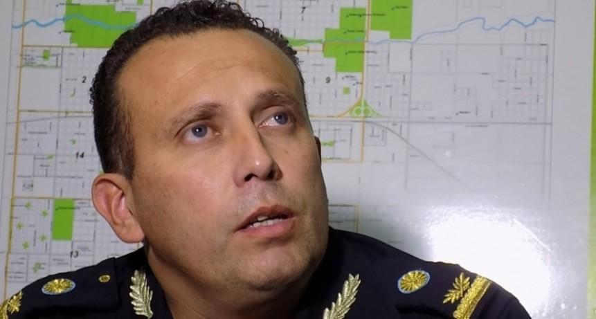Comisario Inspector Roldán: 'di todo por Olavarría'