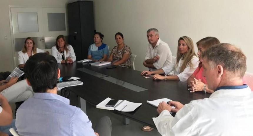 Coronavirus: El Municipio se reunió con representantes de las clínicas