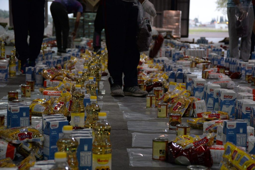 Más sedes para entrega de bolsas de alimentos