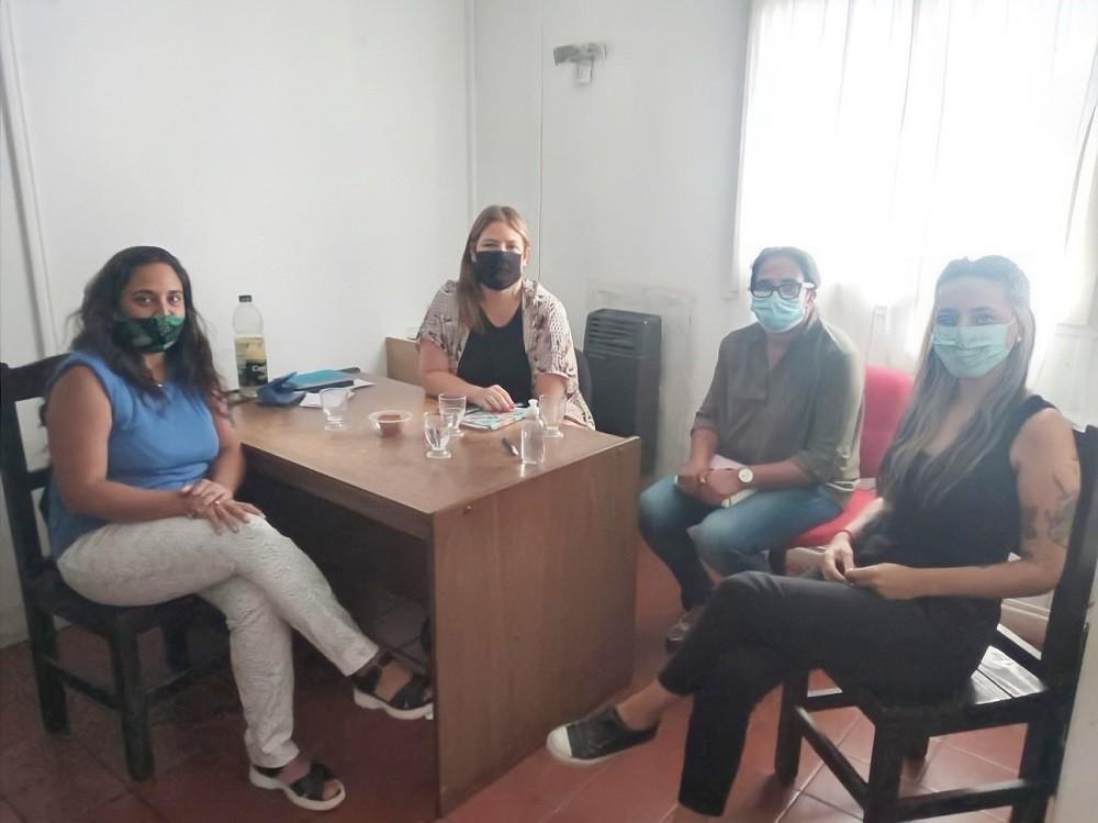 Alvear: Visita de la Coordinadora de la 7ª Región del Ministerio de las Mujeres, Políticas de Género y Diversidad Sexual