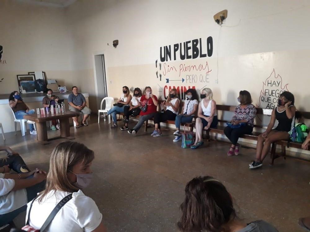 Se volvió a reunir el espacio que integran mujeres y disidencias del Frente de Todos de cara al 8M*