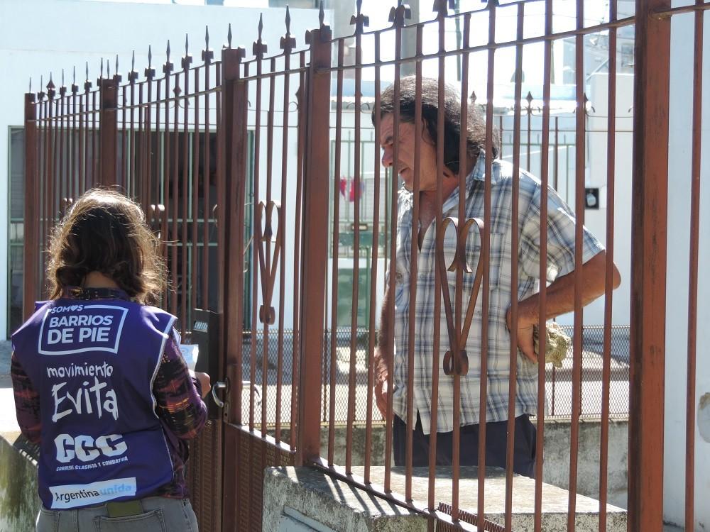 El Movimiento evita continúa con la campaña 'Organización Comunitaria para la Reconstrucción Argentina'