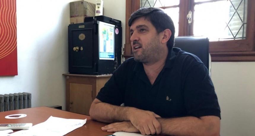 """Robbiani: """"Estamos muy contentos de poder dar inicio con las actividades"""""""
