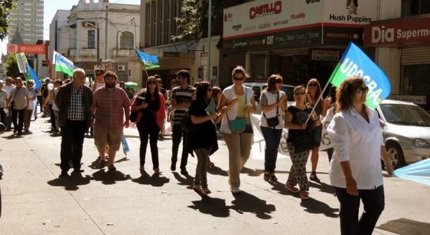 El Frente Progresista Cívico y Social de Olavarria acompañando el reclamo docente