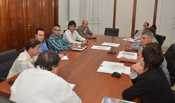 El Intendente Interino encabezó la reunión de Gabinete