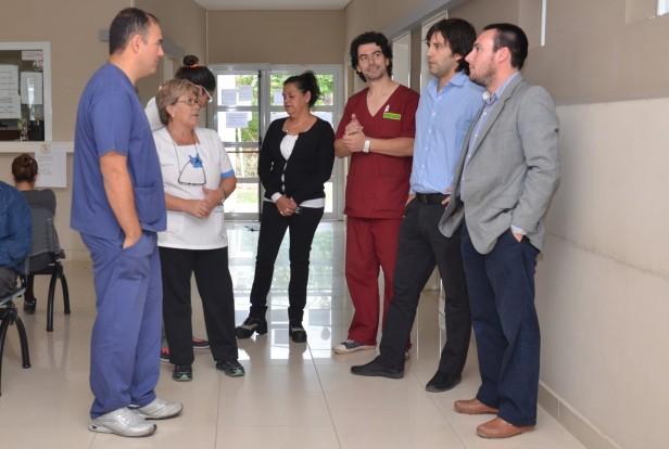 El Centro de Salud de Sierra Chica recibió un botón antipánico