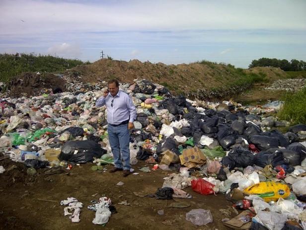 Coll Areco alertó sobre las condiciones del basural de 25 de Mayo