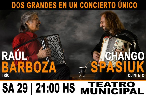 Chango Spasiuk por Radio Olavarría