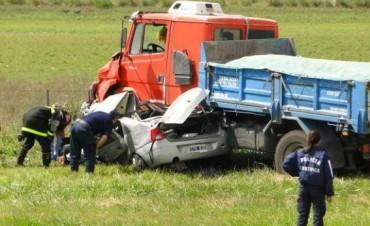 Nuevo accidente en Ruta 3: dos víctimas fatales